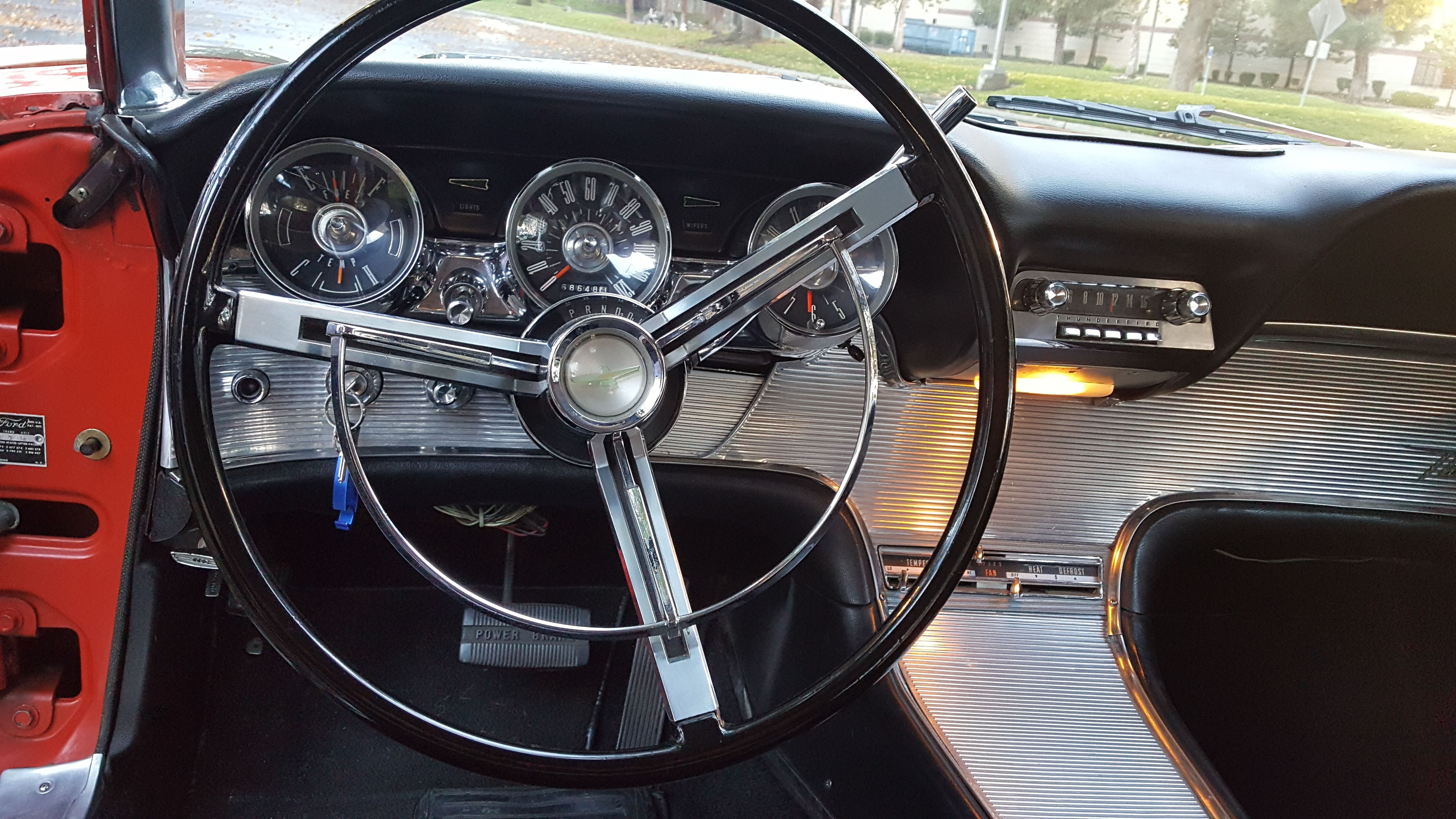 1961 Ford Thunderbird Sold Southern Cross Us Importers O Matic Automatic Transmission Power Steering Brakes And A 2 Door Coupe